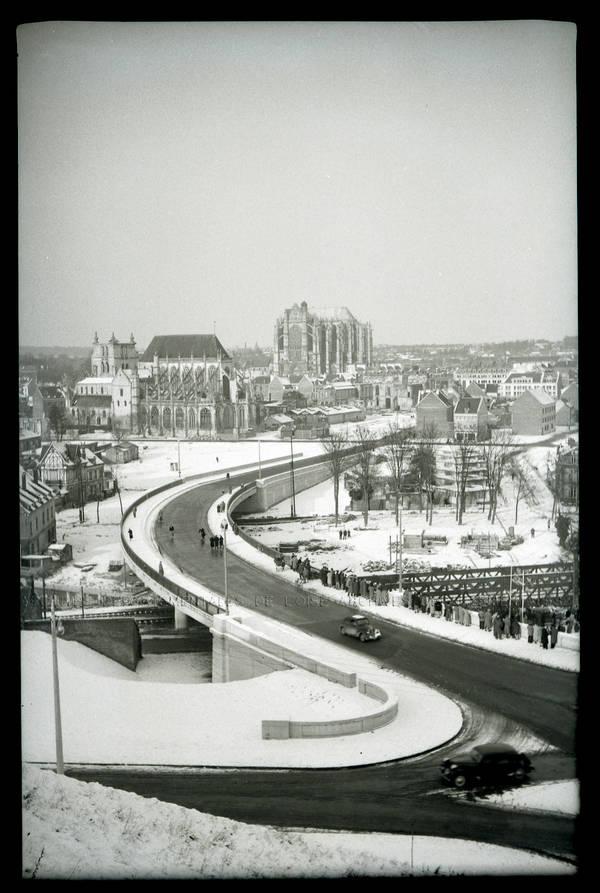 """""""Neige – vues générales du Mont Saint-Jean"""""""