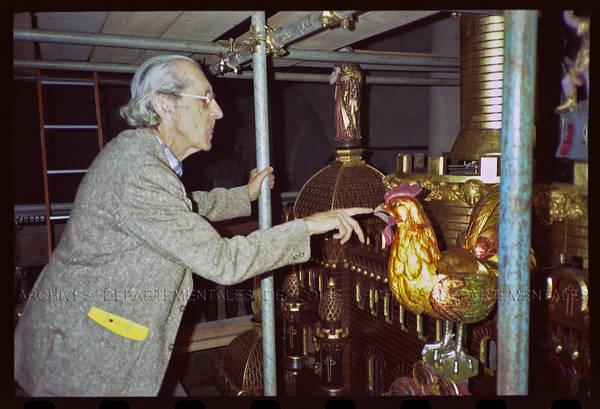 """""""Horloge Vérité – avec Jean Cartier"""" Restauration de l'horloge astronomique – Cathédrale de Beauvais"""