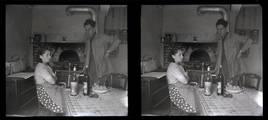 La famille au Mont-Saint-Adrien 1939-1949