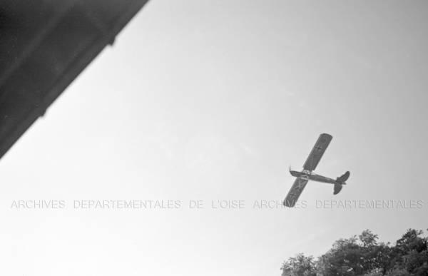 Avion allemand en vol