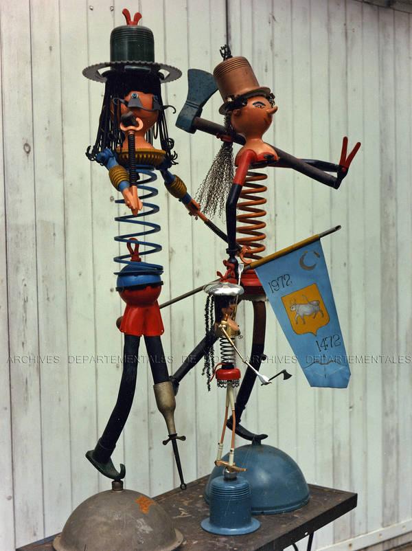 Statues par Fernand Watteeuw