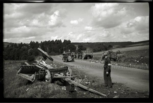"""1er septembre 1944 fin Aux-Marais. FFI"""