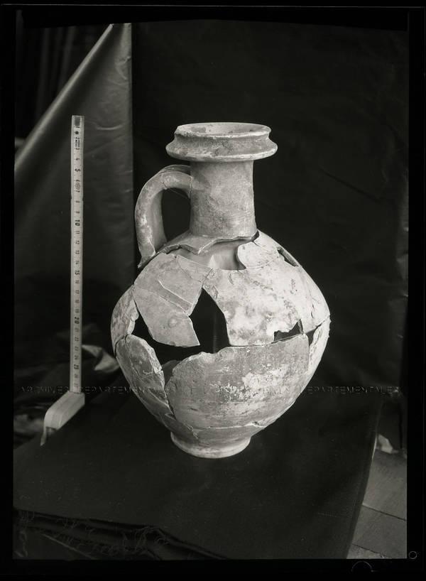 """""""Aux-Marais – Poterie gallo-romaine – 3 vases remontés"""""""